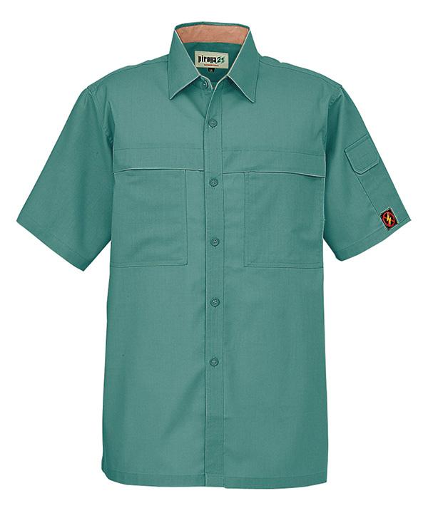 防汚・製品制電半袖シャツ(春夏用薄手生地)ccp5587