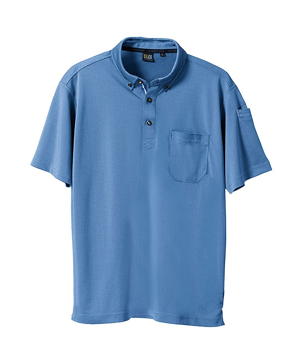 半袖ポロシャツ(胸ポケット付き)sw7045-51