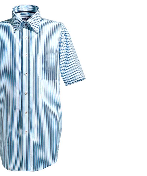 クールビズ半袖シャツ