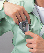 携帯電話収納ポケット