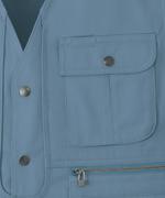 ベスト<br>左胸ポケット<br>(41610)