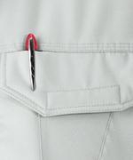 左胸ポケット(ペン差し付き)