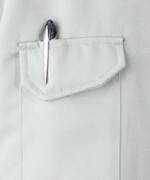 左袖ポケット(ペン差し付き)