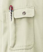 左袖ポケット<br>(ペン差し付)
