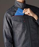レベルブック収納ポケット(右、深さ21cm)