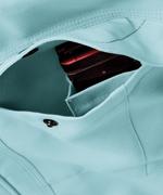 携帯電話収納ポケット(左胸)