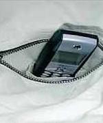 右胸ポケット内携帯電話専用ポケット<br/>(tatu8402)