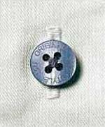 クロス掛ボタンにより見た目が美しく強度アップ(オリジナルボタン)<br/>(tatu8402)
