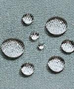 雨や汚れた水をはじく撥水加工